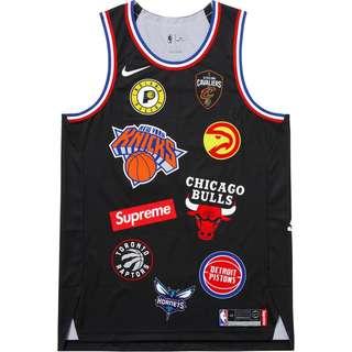 Supreme x Nike Lab x NBA Authentic Basketball Jersey