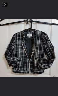 😊 Miss Selfridge Checkered Jacket