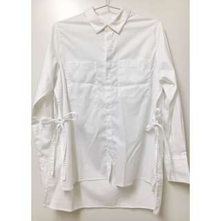 izzue white shirt cos style