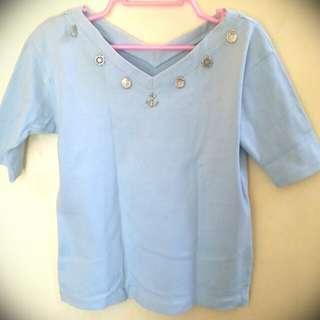 Powder Blue Shirt