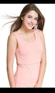 Special Offer/price! Nursing Breastfeeding maternity TOP wear T-shirt S-M size home wear