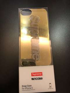 Supreme iPhone 5 case used