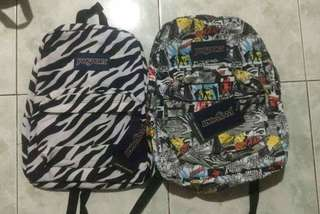 READY TO SHIP: Original Jansport Printed Backpack