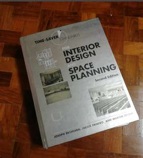Time saver standard for interior design and space planning