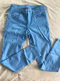 H&M Lt Blue Pants