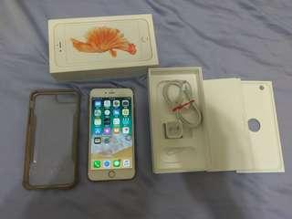 蘋果apple iphone 6S plus 64G 玫瑰金
