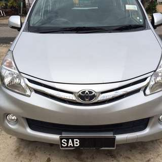 Avanza 2012 (A) to sell