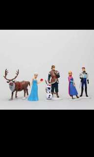 New design! Frozen cake toppers