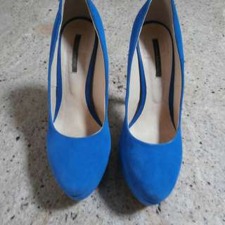 TONY BIANCO ELECTRIC BLUE LADIES SHOES