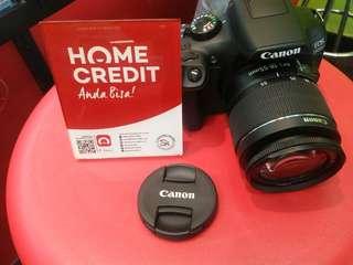 Canon 1300D Lengkap Credit Cepat 3Menit Tunggu