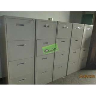 5pcs 4 LAYER VERTICAL CABINET COLOR BEIGE--KHOMI
