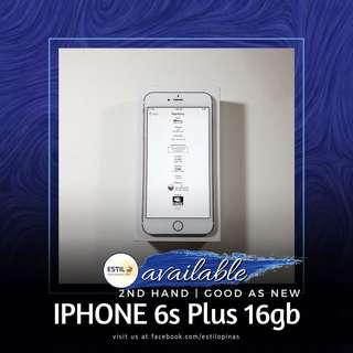 iPhone 6s Plus 16gb Globelocked NTC
