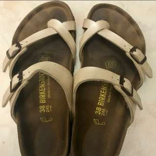 Birkenstock Mayari Pearl Cream Authentic