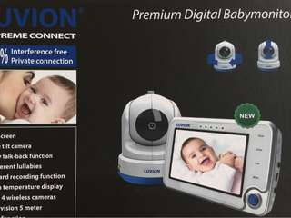 Baby Monitor Luvion Supreme Connect + WiFi bridge