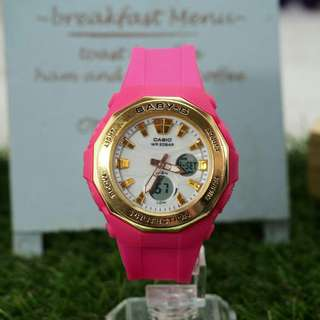 BABY-G DUAL TIMES WOMEN LIMITED EDITION WATCH