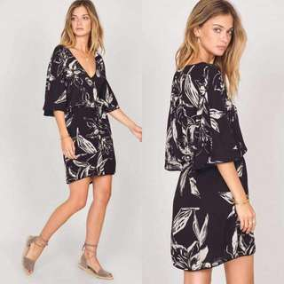 Black Printed Dress