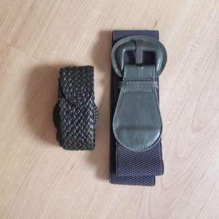 Grey Belts x2