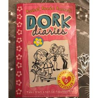 Preowned Kids, Girls DORK DIARIES books, storybooks, Rachel Renée Russell, Children Books, Education, Tales From a Not-So-Fabulous Party Girl