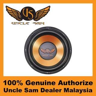 "Uncle Sam 12"" High Performance Subwoofer, 250W - US124"