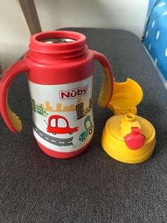 《贈品》二手Nuby保溫水壺