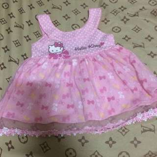 REPRICED SANRIO DRESS 0-3