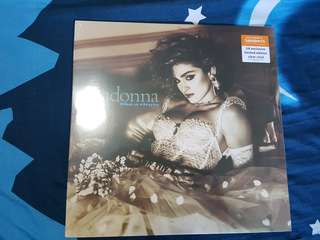 Madonna Like A Virgin Sainsbury Clear Vinyl