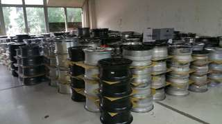 Used rim & used tyres