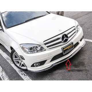 CARLSSON FRONT LIP FOR MERCEDES W204 AMG FRONT BUMPER