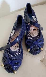 Kids Jelly Wedge Shoes