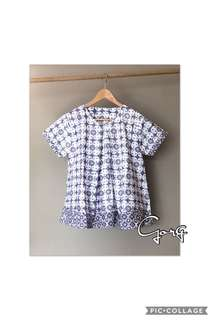 Made to order breastfeeding top
