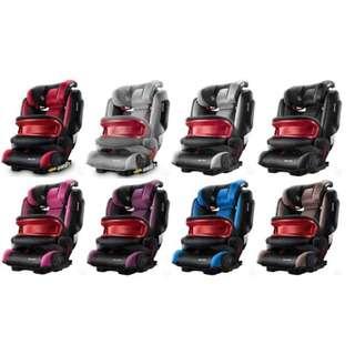 RECARO MONZA NOVA IS 莫札特兒童安全座椅(紅/淺灰/石墨灰/黑/粉紅/紫/寶石藍/棕)
