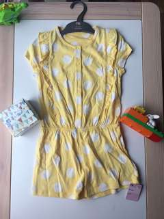 NWT Mothercare girls jumpsuit