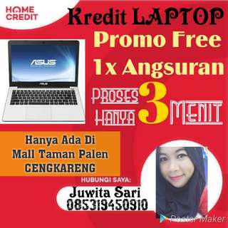 Kredit all type laptop bisa kredit promo free 1x angsuran