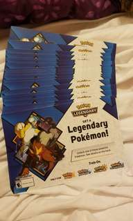 Pokemon Entei and Raikou Event Code