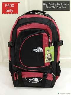Northface high quality Backpacks