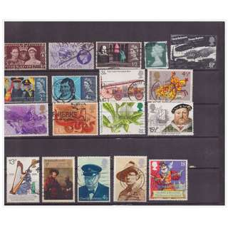 Mixed Great Britain Stamp Lot