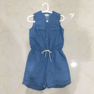 gaudi denim jumpsuit