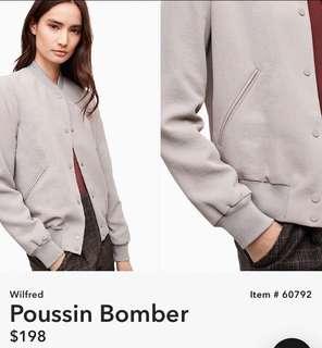 Aritzia Poussin Bomber Jacket