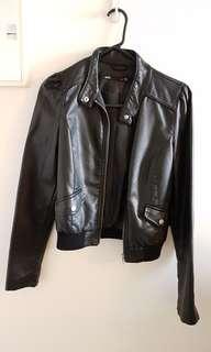 Dotti Fake Leather Jacket