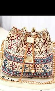 (PO) Ladies Classy Drawstring Bag