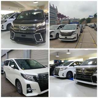 Toyota Alphard Vellfire Executive Lounge