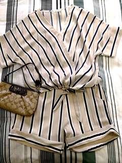 Kimono Style Top & Bottom
