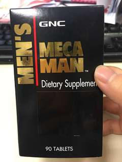 GNC man dietary supplement 男仕維他命