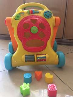 Tiny Steps Walker for Toddlers