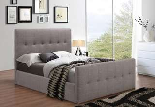 Brand new in box double platform bed at wholesale price