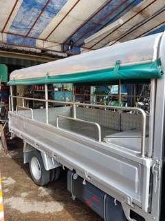 Lorry rental hourly basis