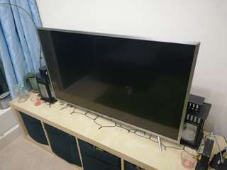 TCL 43 inch smart tv, basically brand new