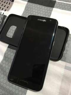 Samsung S7 Edge 32gb duos black globelocked