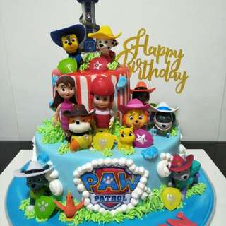 Customized cake for kids