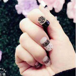 Re-usable nails